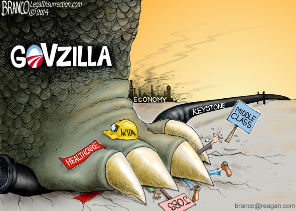 branco cartoon (govzilla)