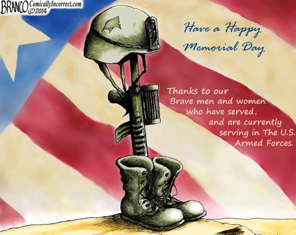 branco cartoon (memorial day thank you)