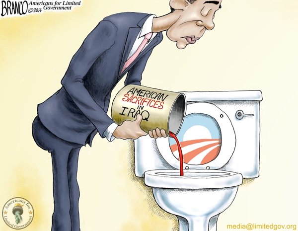 branco cartoon (obama iraq sacrifices)