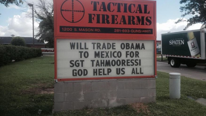 tactical firearms [tahmooressi for obama]