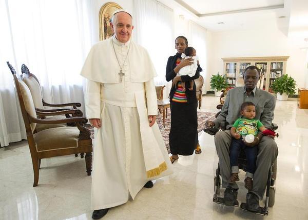 Meriam Ibrahim Pope Francis I