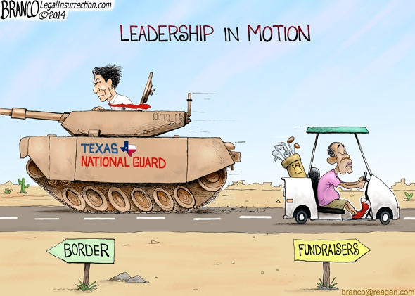branco cartoon (leadership in motion)