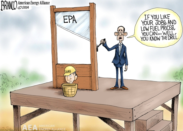 branco cartoon (POTUS job killer in chief)