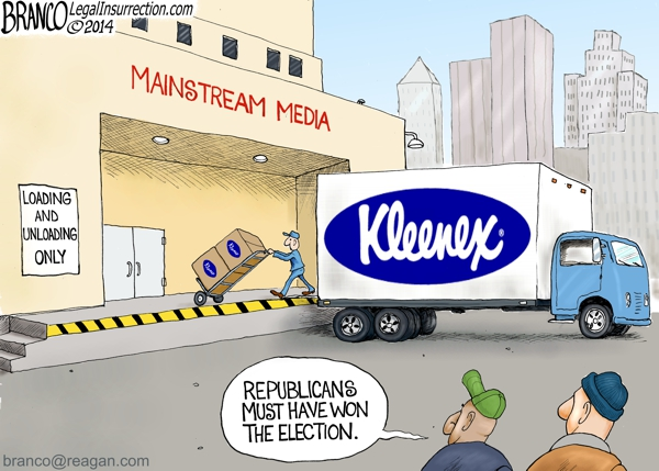 branco cartoon (lamestream media (elections 2014))