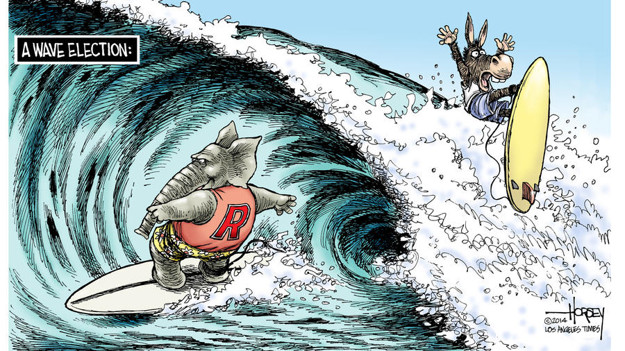 Arnn cartoon (2014 wave election)