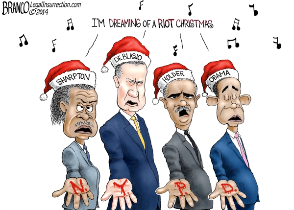 branco cartoon (blood on their hands)(nypd murders)