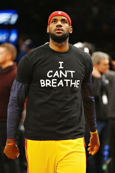 LeBron James (tshirt protest)