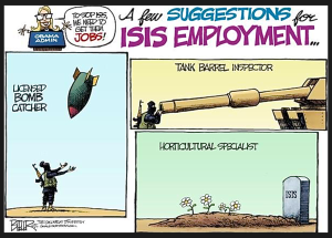fernandez cartoon (ISIS employment)