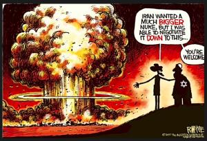 fernandez cartoon (iran nukes)