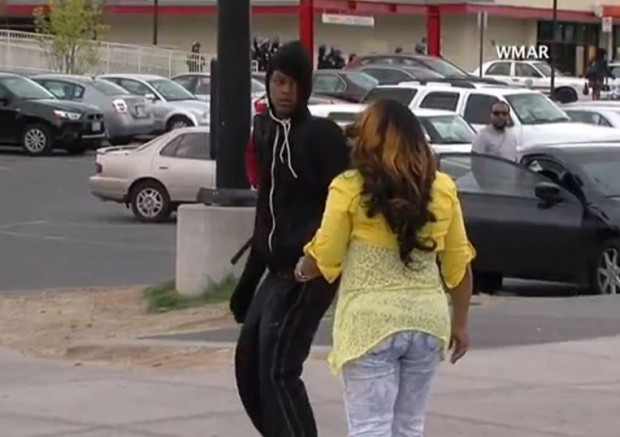 Baltimore-Mom-Hits-Rioting-Son