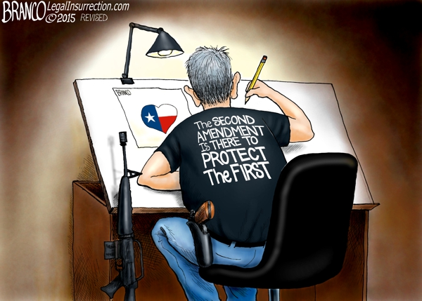 branco cartoon (2nd Amendment rights)