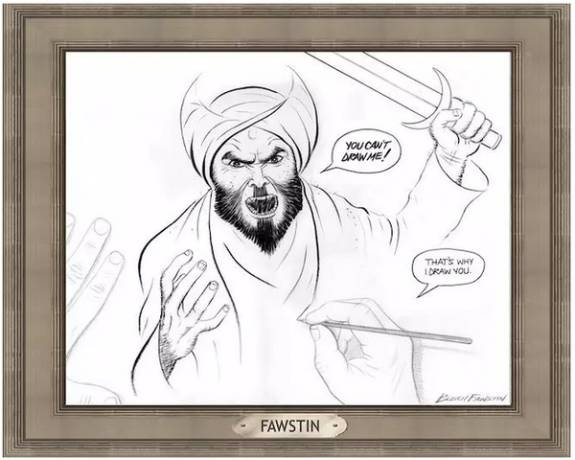 mohammed contest cartoon winner