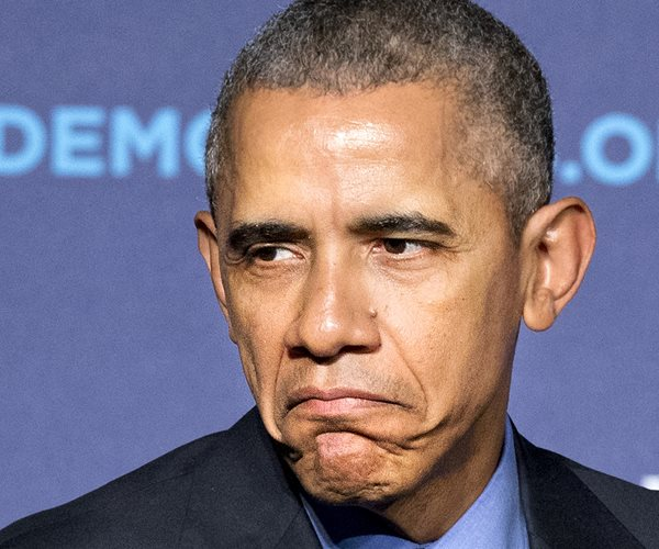 POTUS (pouting)