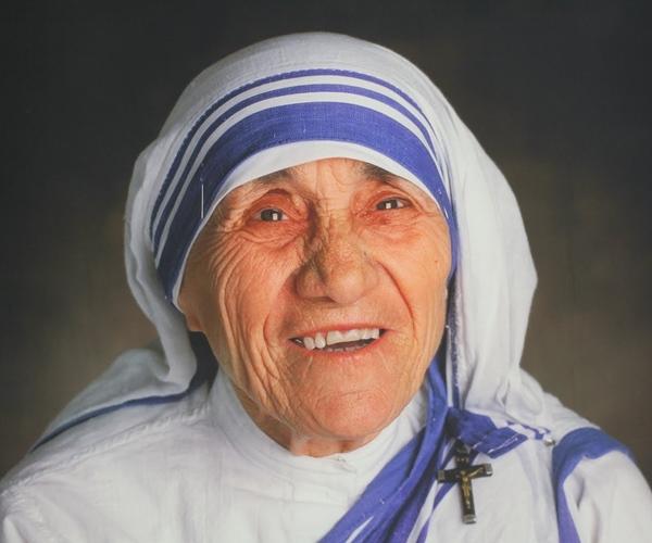 ... Saint Teresa of Calcutta ....